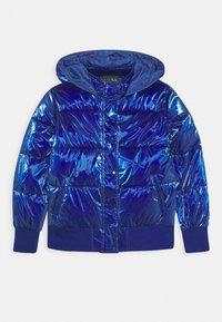 Guess - JUNIOR PADDED HOODED - Zimní bunda - jewel blue - 0