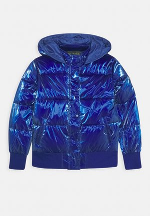 JUNIOR PADDED HOODED - Zimní bunda - jewel blue