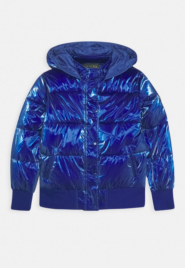 JUNIOR PADDED HOODED - Winter jacket - jewel blue