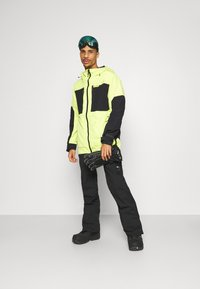 O'Neill - HAMMER SLIM PANTS - Snow pants - black out - 1