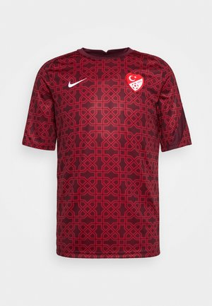 TÜRKEI - National team wear - gym red/night maroon/white