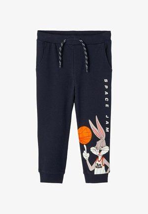 SWEATHOSE SPACE JAM - Pantalones deportivos - dark sapphire