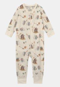 Lindex - MOLE AND FRIENDS UNISEX - Pyjamas - light beige - 0