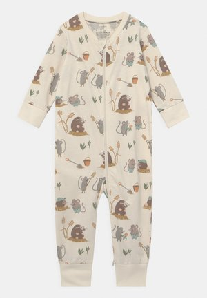 MOLE AND FRIENDS UNISEX - Pyjamas - light beige