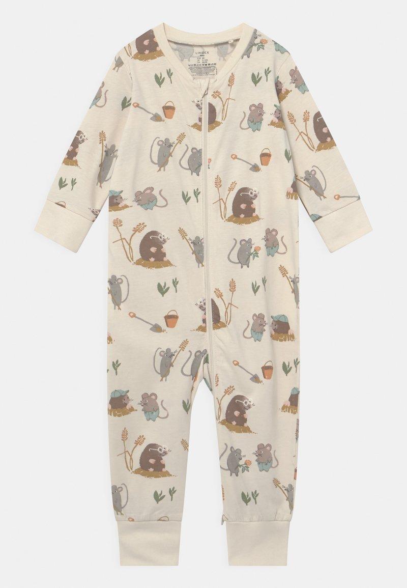Lindex - MOLE AND FRIENDS UNISEX - Pyjamas - light beige