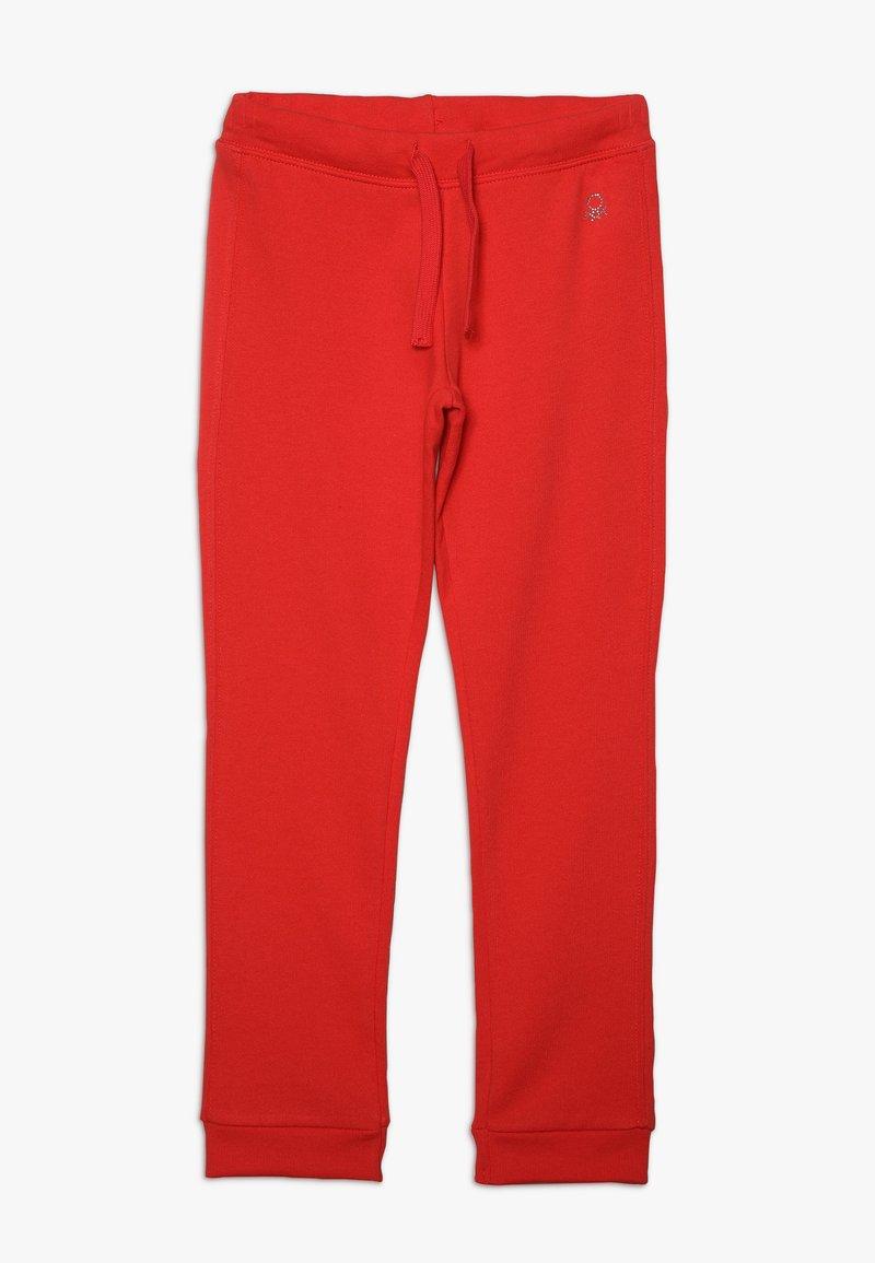 Benetton - TROUSERS - Spodnie treningowe - pink