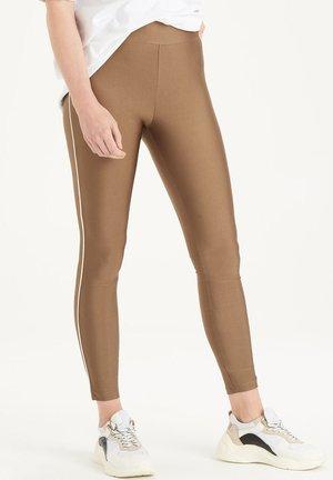 PEPPER LEGGING - Legging - brown