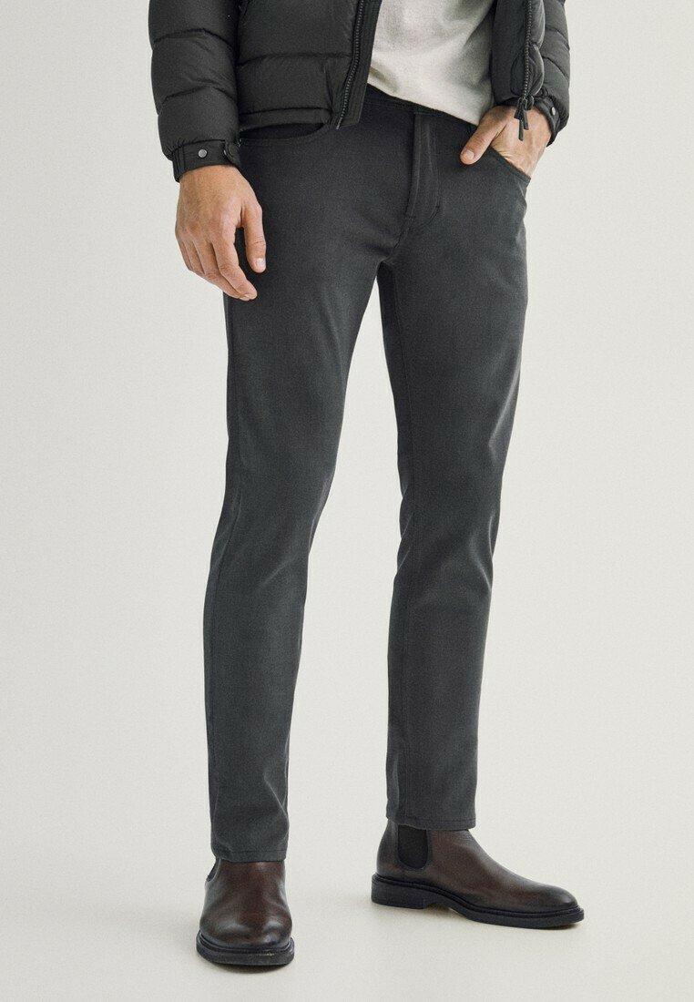 Massimo Dutti - Slim fit jeans - grey