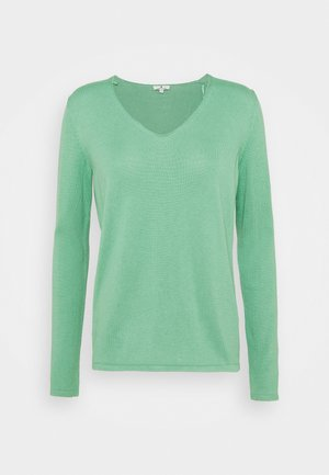 VNECK - Pullover - soft leaf green
