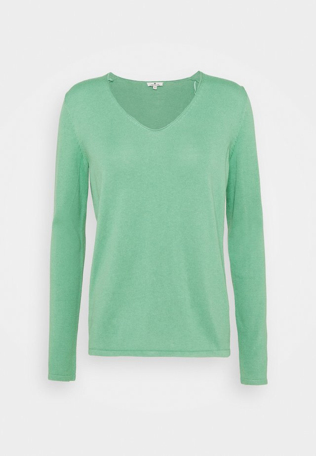 VNECK - Trui - soft leaf green