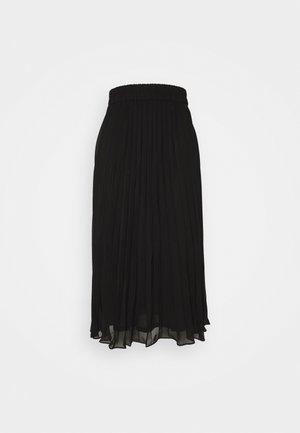 Falda acampanada - black dark