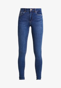 PCDELLY - Jeans Skinny Fit - medium blue denim