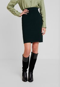 Anna Field - Pouzdrová sukně - dark green - 0
