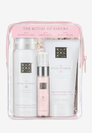 BEAUTY TO GO - SAKURA POUCH - Bath and body set - -