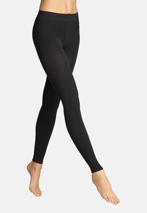 LEGGINGS COSY WINTER - Leggings - Stockings - black