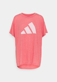 adidas Performance - WIN TEE - Camiseta estampada - hazy rose - 0