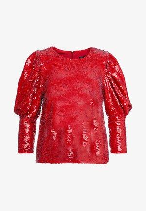 KYRA TOP  - Pusero - red