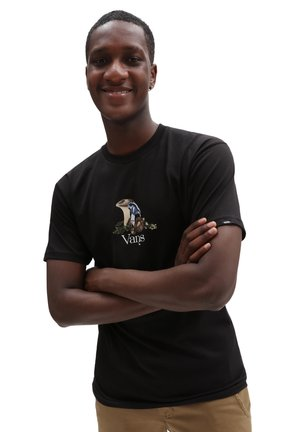 MN STILL LIFE SS - Print T-shirt - black