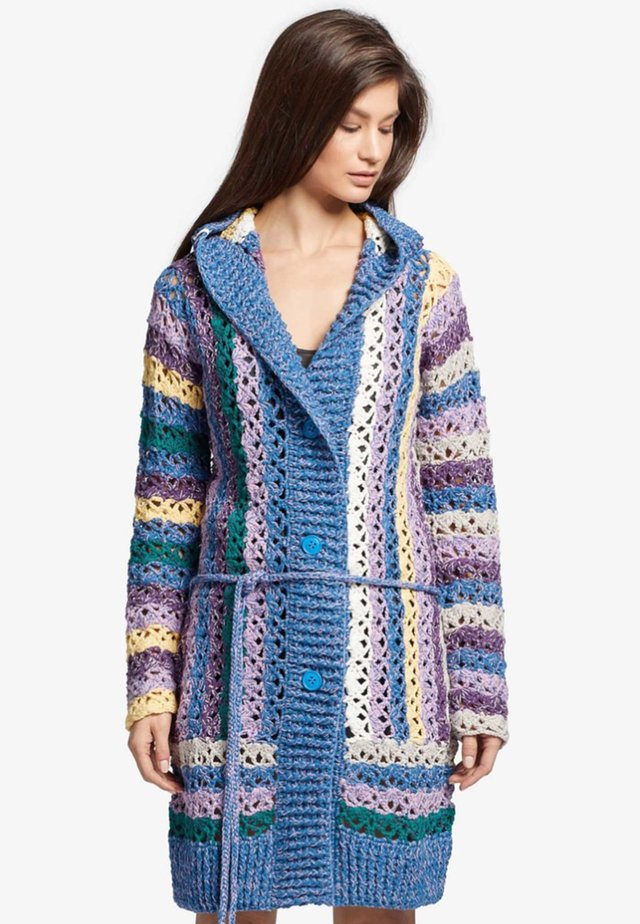 JESPER - Cardigan - blue/multi-coloured