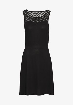 ONLNEW NICOLE LIFE DRESS - Jersey dress - black
