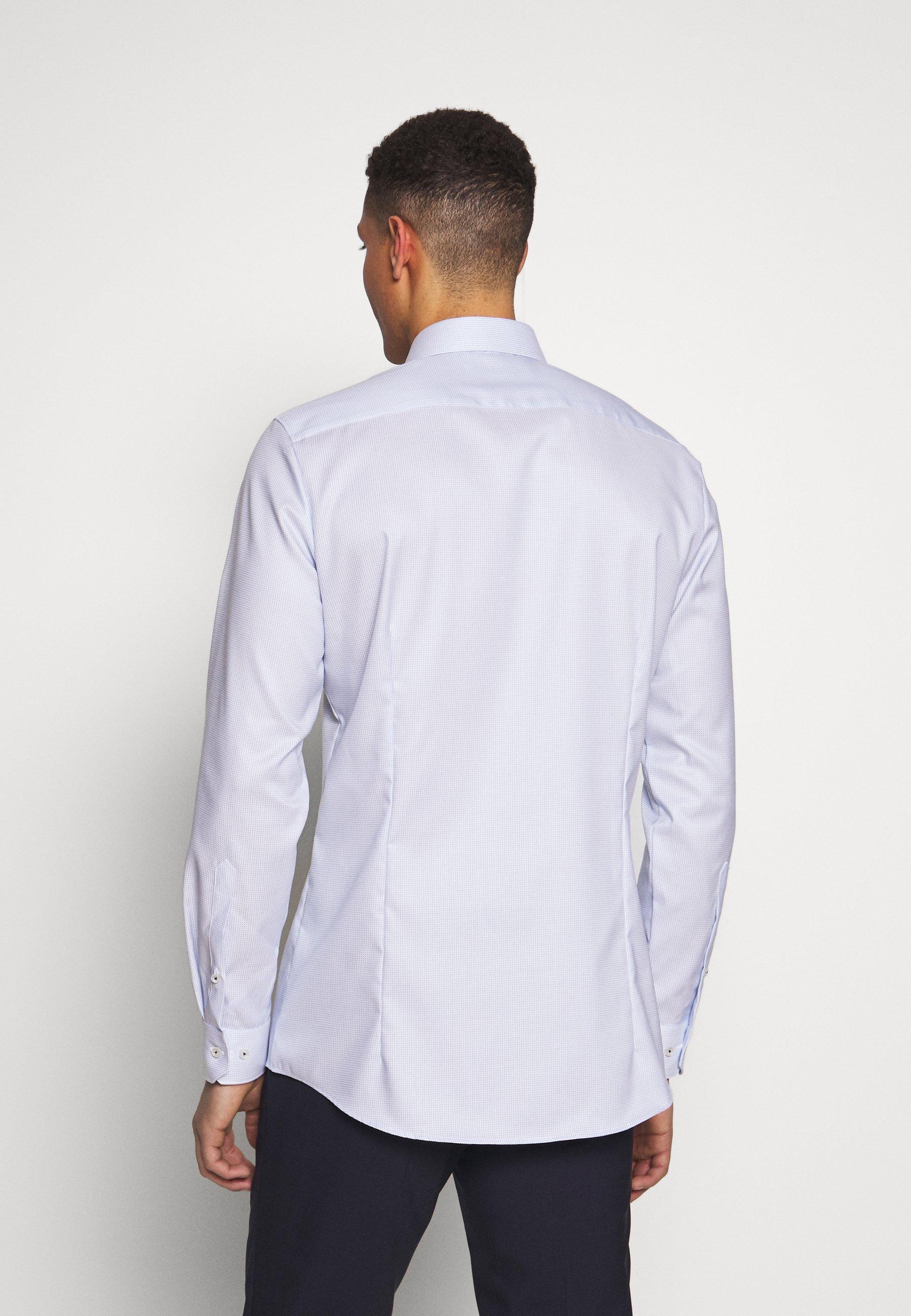 OLYMP OLYMP NO.6 SUPER SLIM FIT  - Koszula biznesowa - bleu - Odzież męska 2020