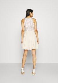 Lace & Beads - ADDISON SKATER - Sukienka koktajlowa - beige - 2