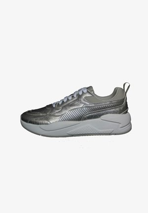 Trainers - silver silver gray violet
