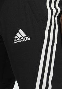 adidas Performance - AERO 3S PNT - Spodnie treningowe - black/white - 2
