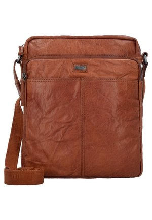 BRONCO M  - Across body bag - brandy