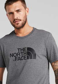 The North Face - EASY TEE SUMMIT GOLD - T-Shirt print - grey heather - 5