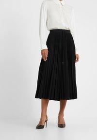 Max Mara Leisure - GIGANTE - A-line skirt - schwarz - 0