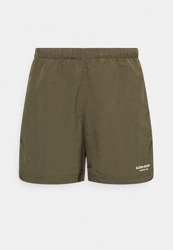 TRAINING SHORTS - Sports shorts - ivy green