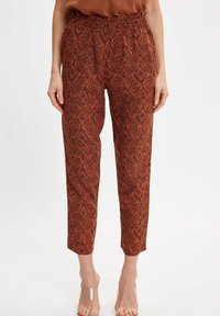 DeFacto - Trousers - orange - 0
