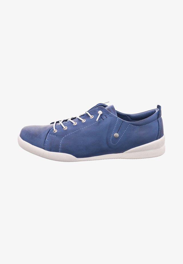 Lace-ups - jeans blue