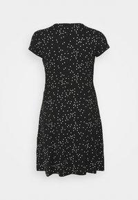 Anna Field Curvy - Day dress - black/white - 1