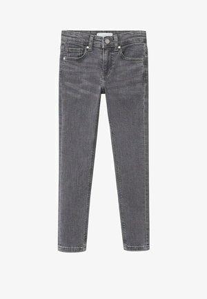 Slim fit jeans - gris denim