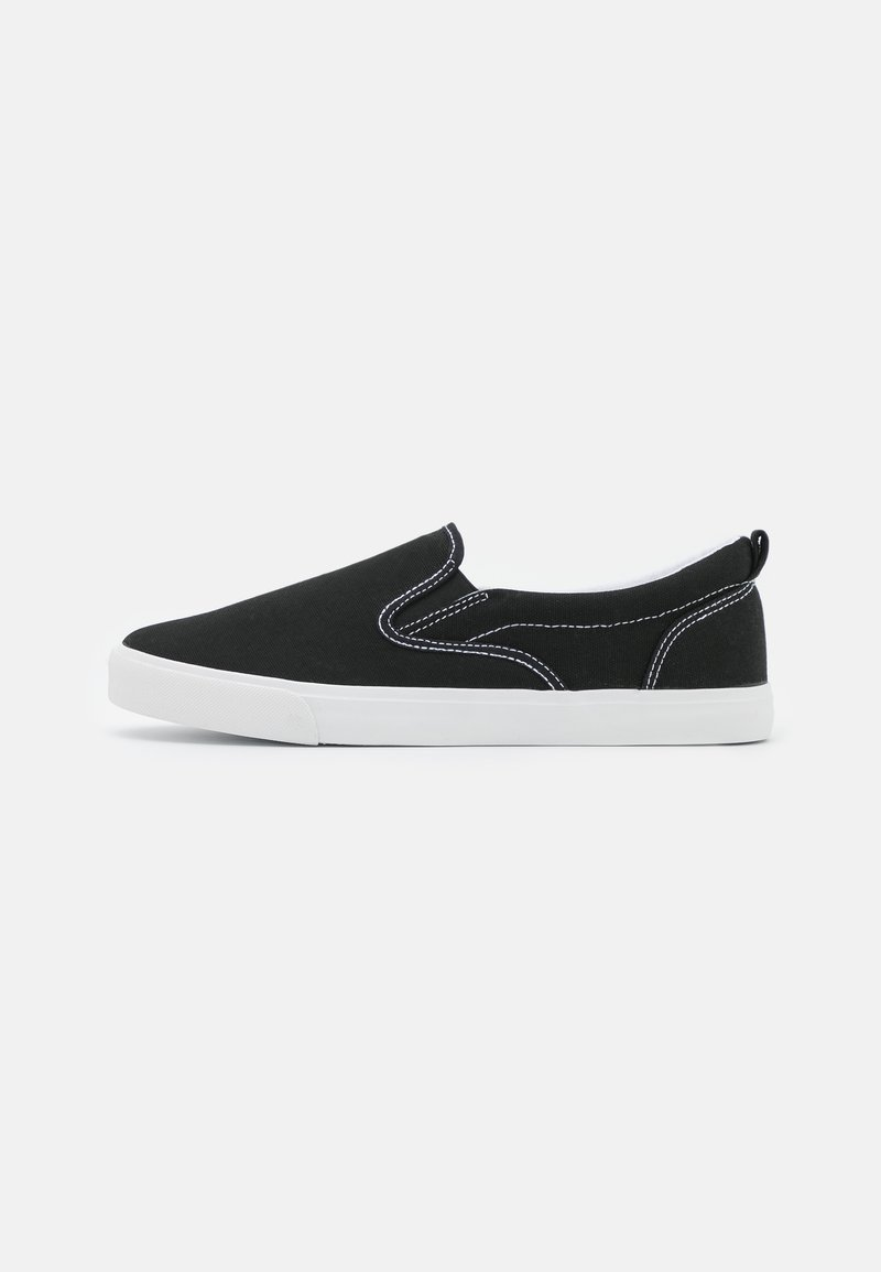 Pier One - UNISEX - Matalavartiset tennarit - black