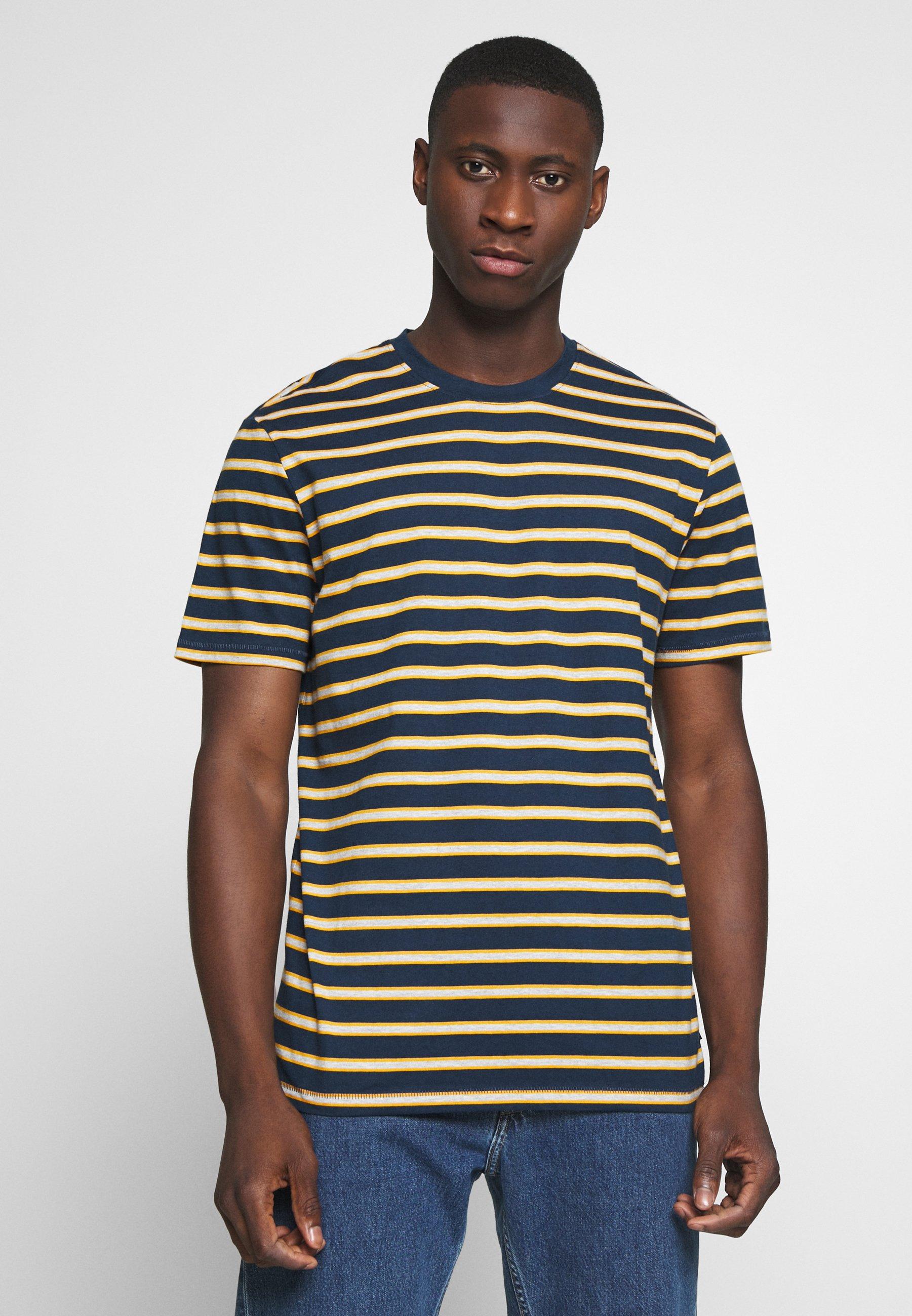 Men ONSMEL LIFE STRIPE TEE - Print T-shirt