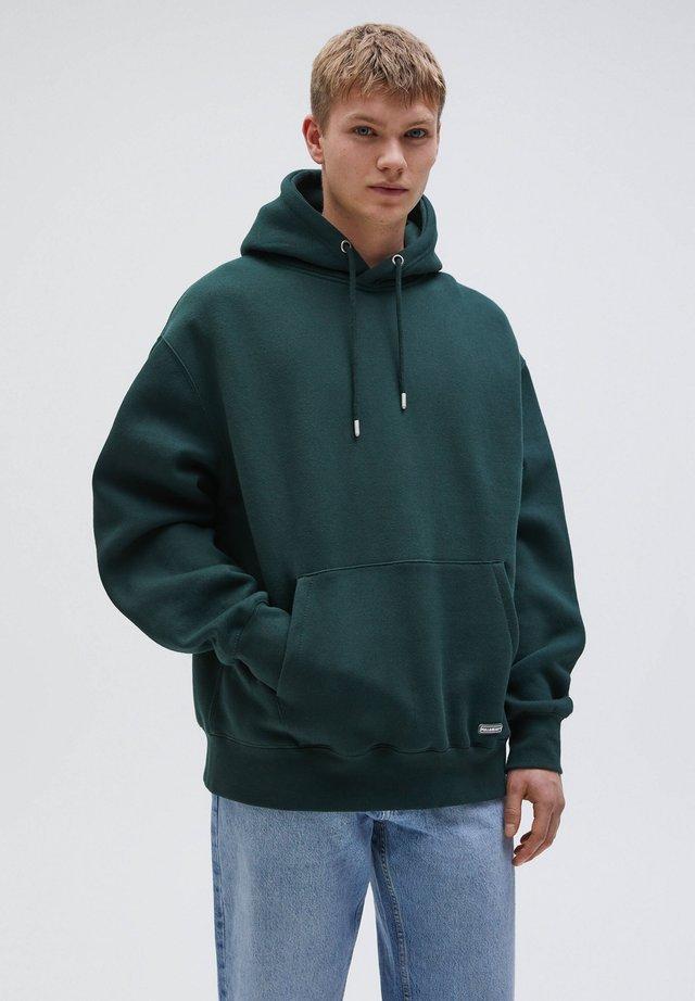 Hættetrøjer - dark green