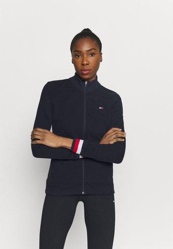 SLIM GLOBAL ZIP UP - Training jacket - blue