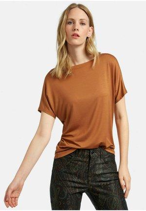 T-shirt basic - camel