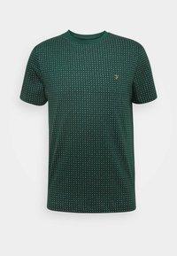 Farah - HOLBROOKS TEE - Print T-shirt - emerald green - 4
