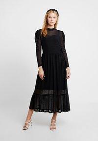 Love Copenhagen - FREYALC DOTS DRESS - Day dress - pitch black - 1