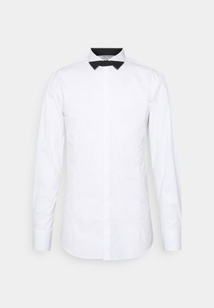 TUXEDO POINT BLOCK - Shirt - white/black