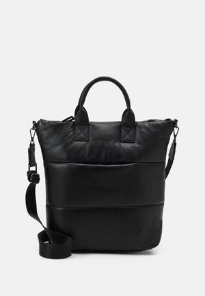Velká kabelka - metallic black
