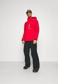 Quiksilver - PORTER - Snow pants - true black - 1