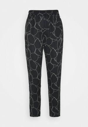 ELASTICWAIST PANT - Trousers - black