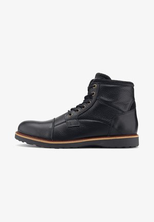 REBOLY - Lace-up ankle boots - schwarz