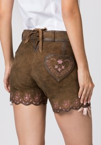 Stockerpoint - HARMONY - Leather trousers - brown - 4