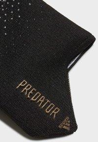 adidas Performance - PREDATOR 20 PRO FINGERSAVE - Guantes de portero - black - 2